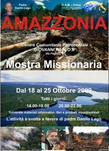 Locandina Mostra Amazzonia